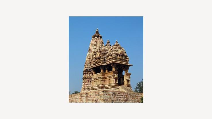 javari temple khajurah madhya pradesh temple view