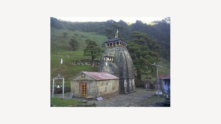 Madhyamaheshwar Temple, Panch Kedar, Mansoona, Garhwal, Uttarakhand