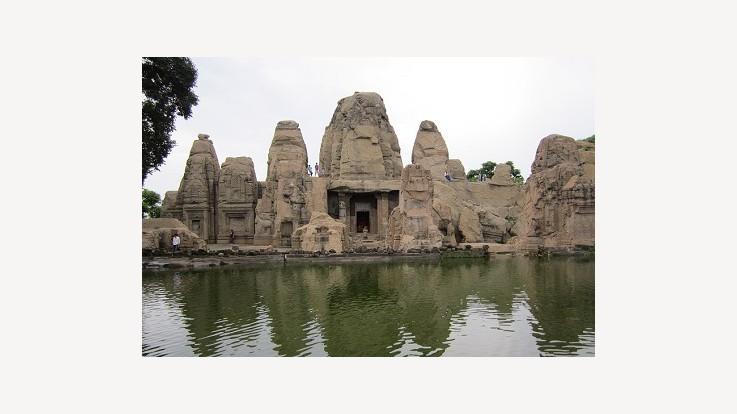 Masroor Himalayan Pyramid Temples, Masrur, Kangra, Himachal Pradesh