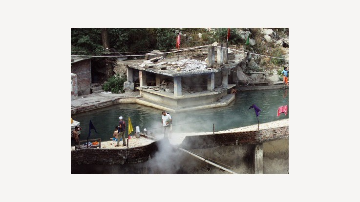 Gurudwara Hot Spring