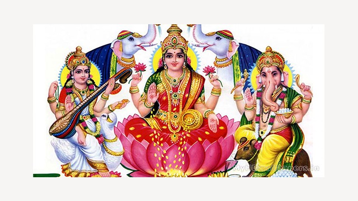 how to do lakshmi puja on diwali