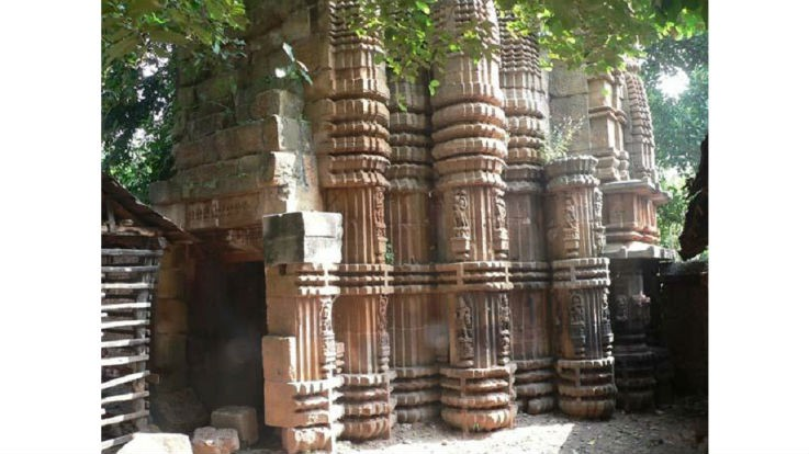 Vishnu Temple,Gandhi Garabadu, Bhubaneswar, Odisha