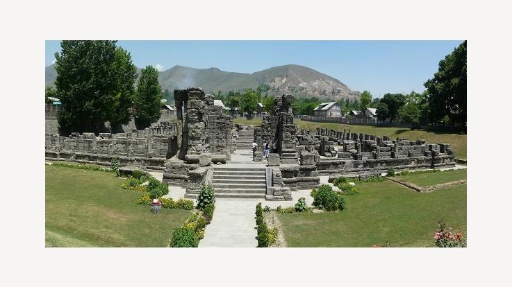 Avantiswami Temple, Awantipora, Jammu & Kashmir