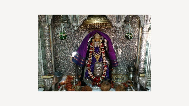 Shri Shakatambika Mataji Temple, Paswadal, Sidhpur, Gujarat