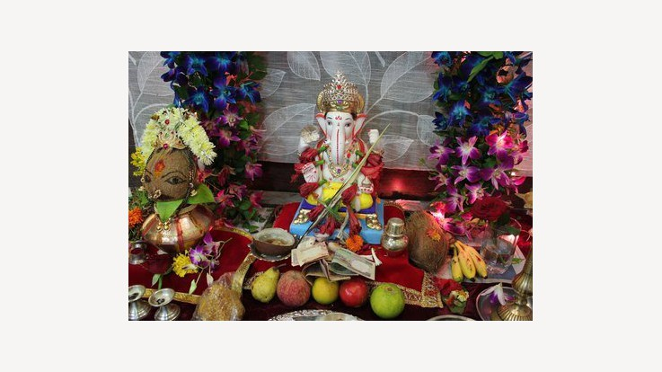 Lord Ganesh Pujan