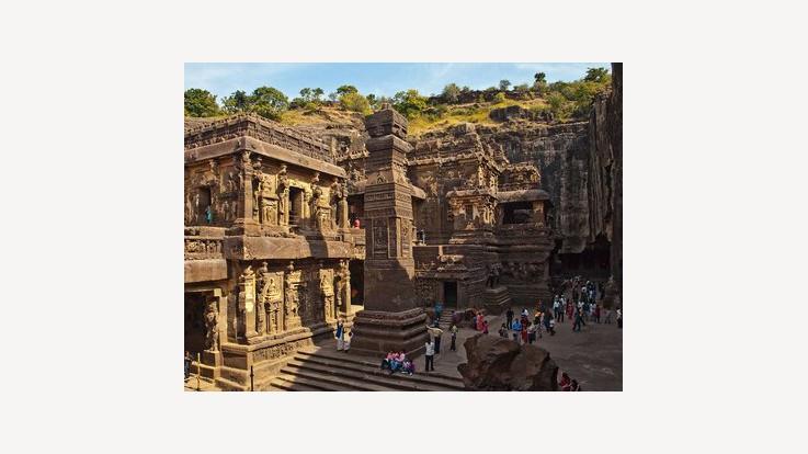 Kailasa temple, Ellora, Aurangabad, Maharashtra