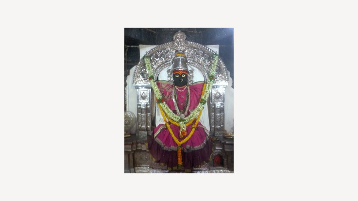 Yamai Temple, Aundh, Satara, Maharashtra