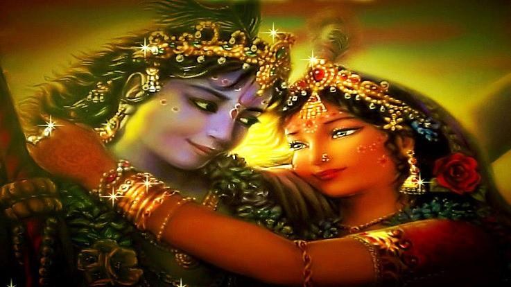 Why is Radha worshiped along with Krishna?