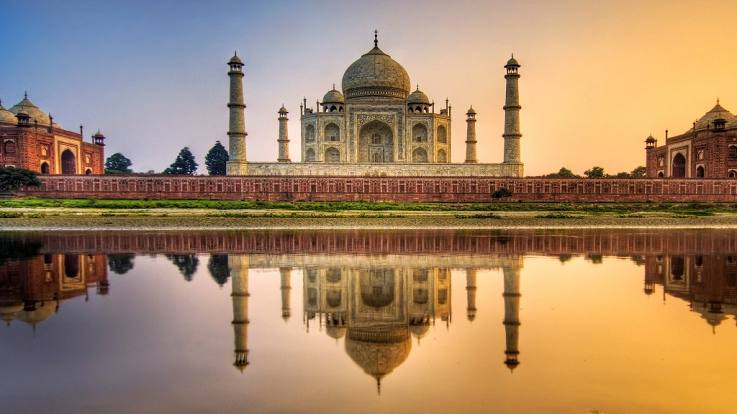 The beautiful city of Agra