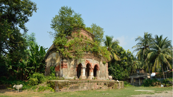 madangopal jiu temple mellock samta west bengal temple view