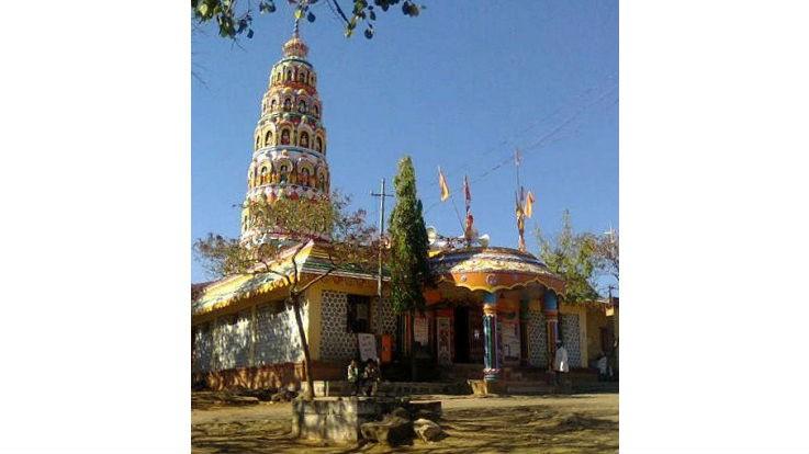 Hanuman Temple, Pangari, Beed, Maharashtra