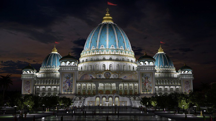 iskcon temple mayapur west bengal