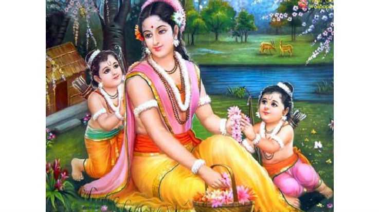 Story of Goddress Sita Exile and Birth of Lav and Kush