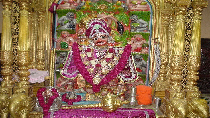 Shri Hanuman Mandir, Sarangpur, Gujarat