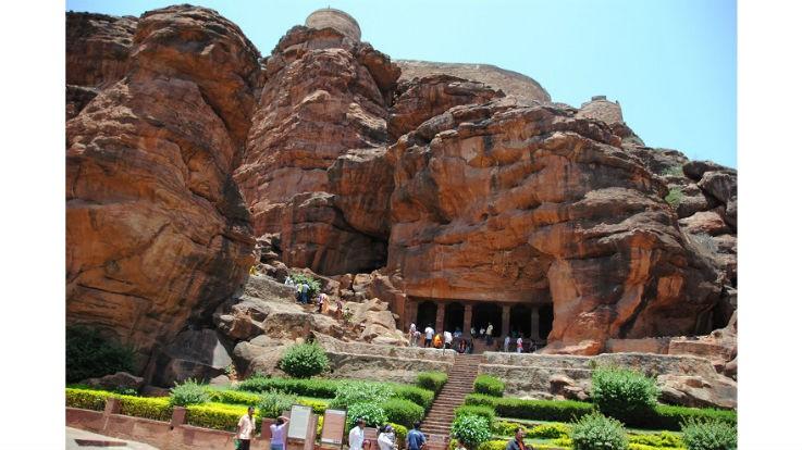 Badami Cave Temple, Karnataka